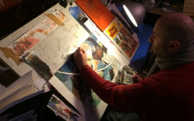 Interview with the artist: Vincent Pompetti