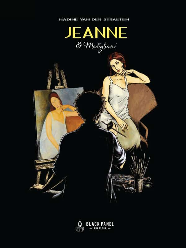 Jeanne & Modigliani Graphic Novel Cover