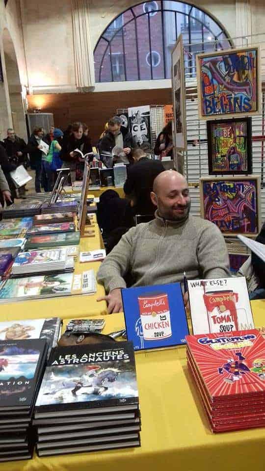 Vincent Pompetti at Salon BD