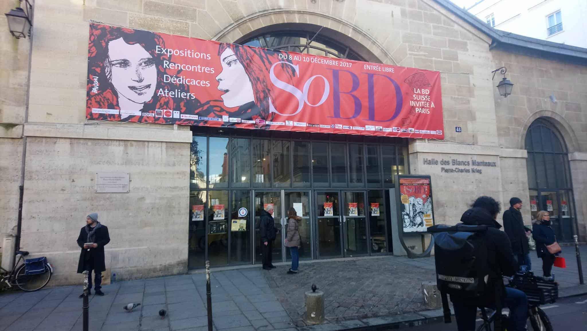 Salon BD Paris Entrance