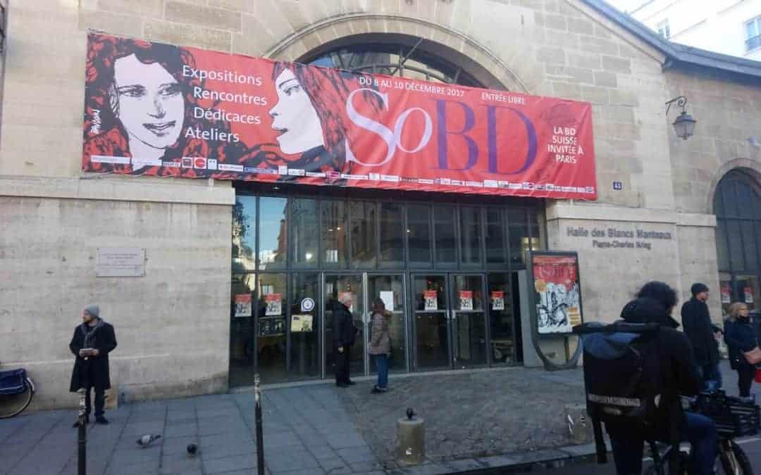 Recap: Black Panel Press at Salon BD in Paris