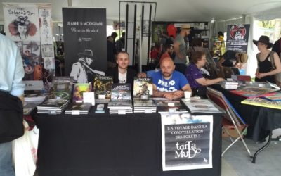 Black Panel Press at Montreal's Comic Arts Festival
