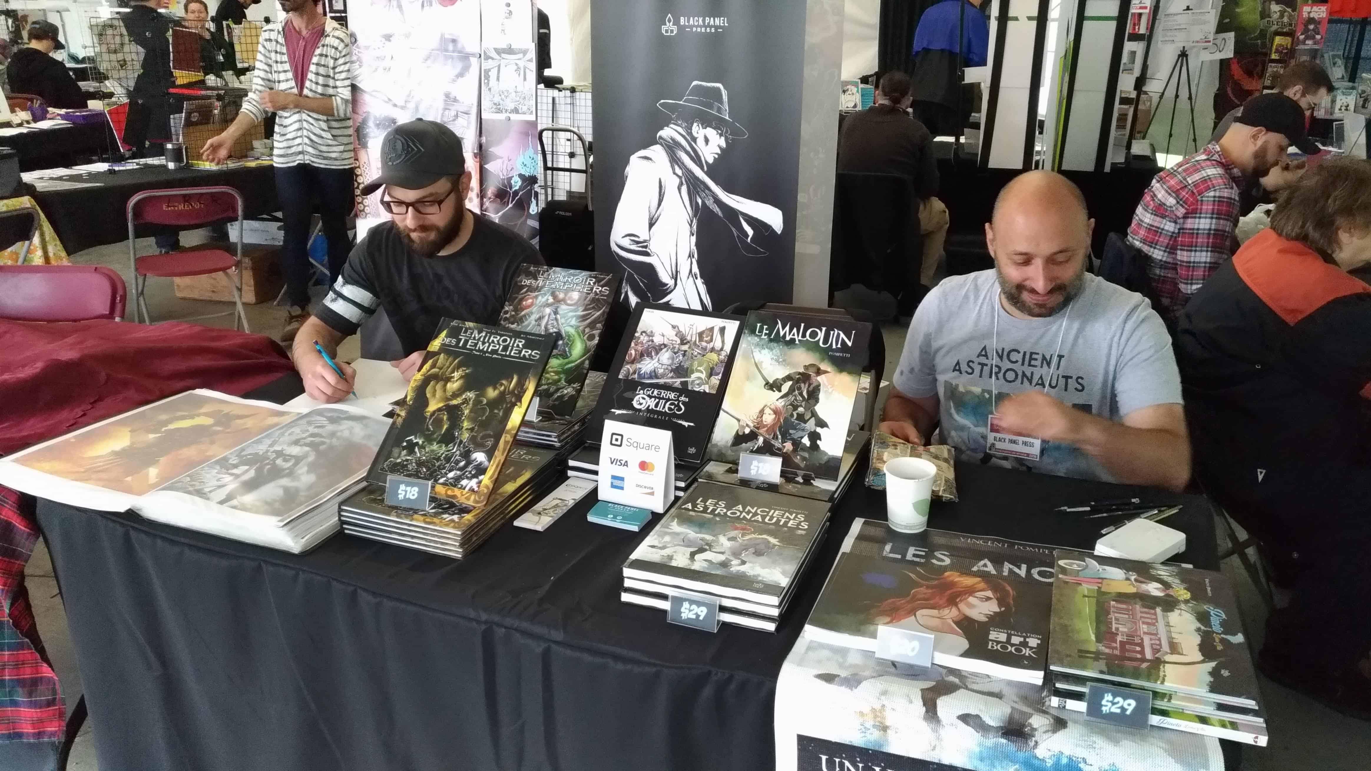 Vinz El Tabanas and Vincent Pompetti Montreal Comic Arts Festival