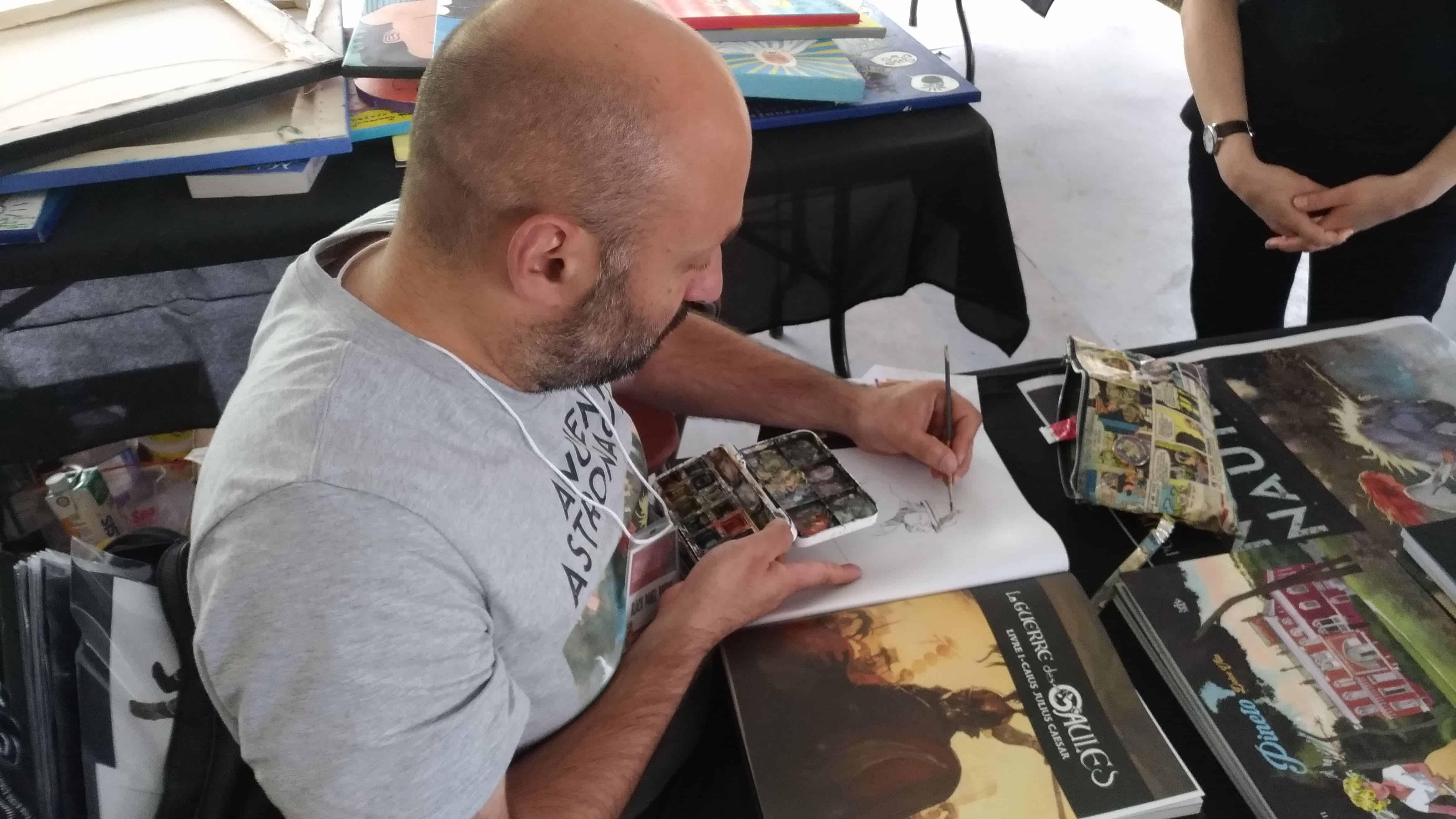 Vincent Pompetti Montreal Comic Arts Festival