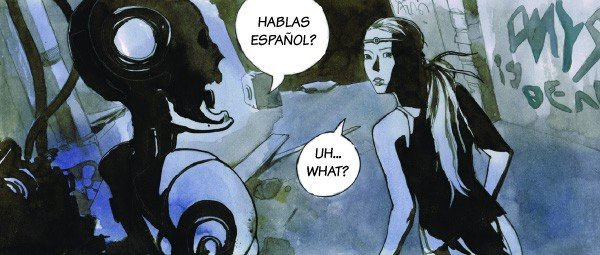 Learning Foreign Languages with Comics