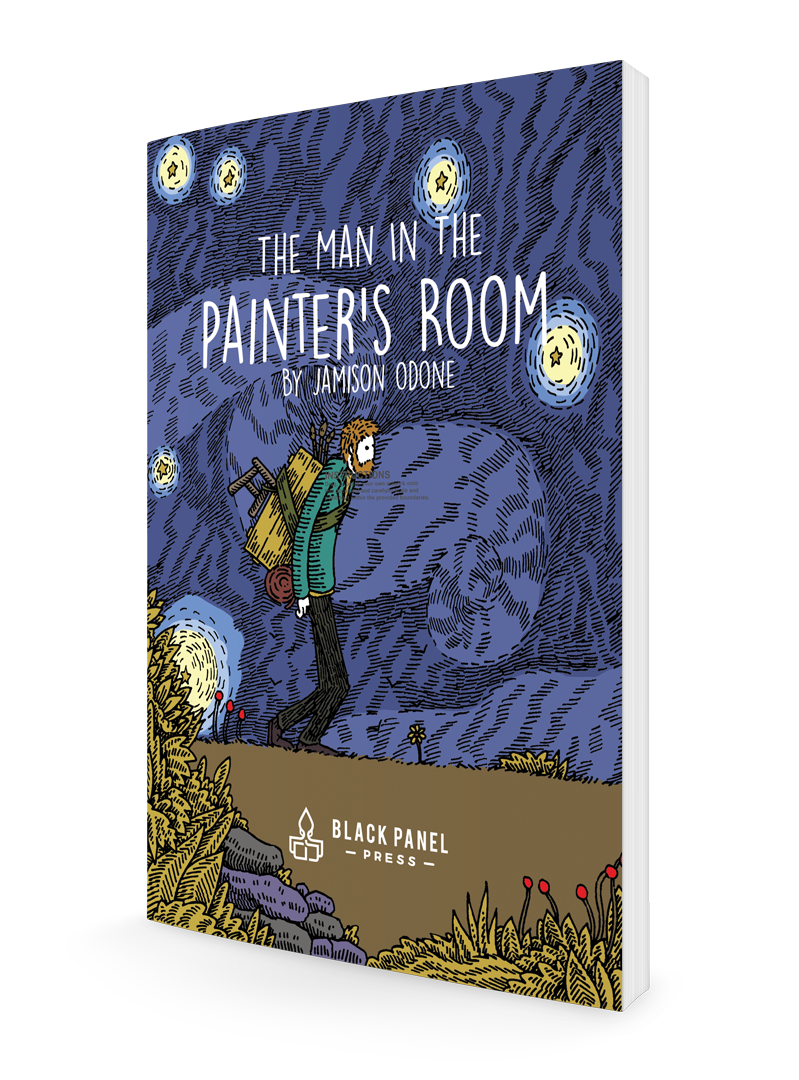 The Man in the Painter's Room Cover
